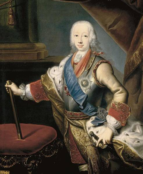 Imperial Russia Photograph - Peter IIi 1728-1762. Anonymous Portrait by Everett