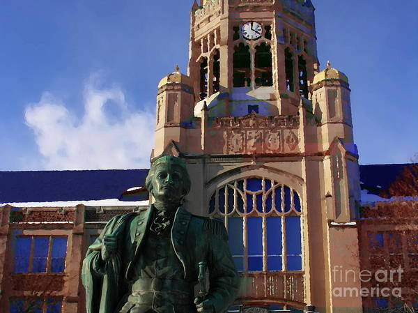 Muhlenberg Photograph - Peter Muhlenberg And Haas College Center by Jacqueline M Lewis