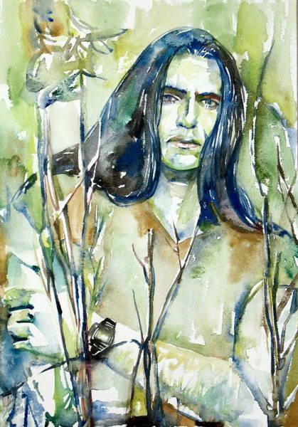 0 Painting - Peter Steele Portrait.1 by Fabrizio Cassetta