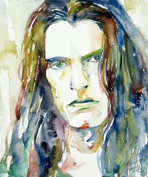 0 Painting - Peter Steele Portrait.4 by Fabrizio Cassetta