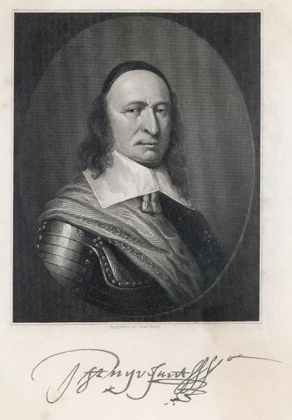 Wall Art - Drawing - Peter Stuyvesant (1610 - 1672) - Dutch by Mary Evans Picture Library