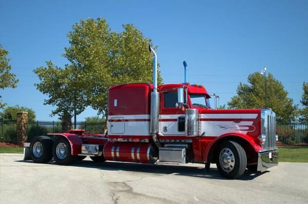Photograph - Peterbilt Semi Tractor by Tim McCullough