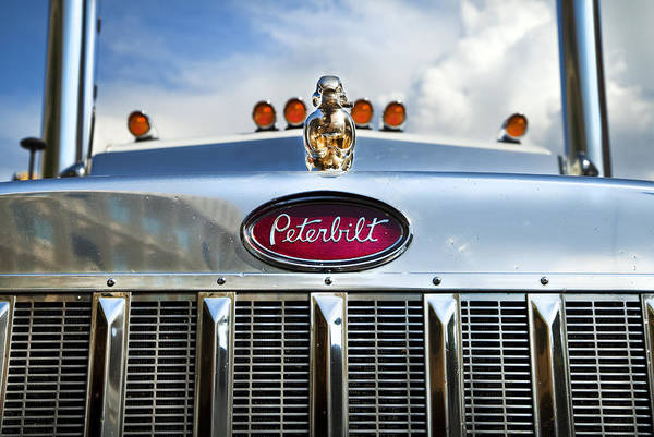 Semi Truck Photograph - Peterbilt by Theresa Tahara