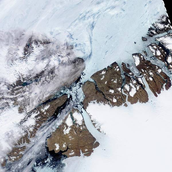Wall Art - Photograph - Petermann Glacier by Nasa/science Photo Library
