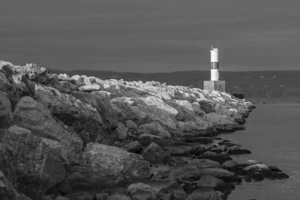 Jetti Wall Art - Photograph - Petoskey Michigan Lighthouse by John McGraw