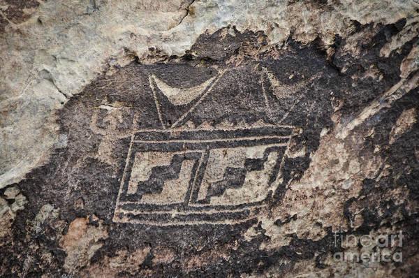 Photograph - Petroglyph Design by Cheryl McClure