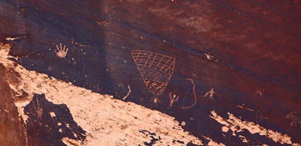 Petroglyphs In Utah Art Print