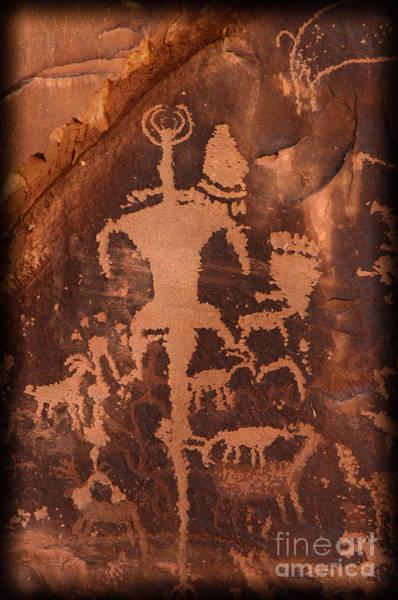 Photograph - Petroglyphs by Sharon Seaward