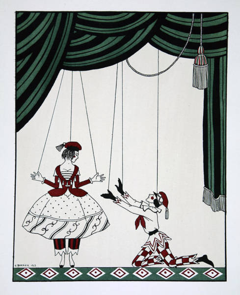 Skill Painting - Petroushka by Georges Barbier