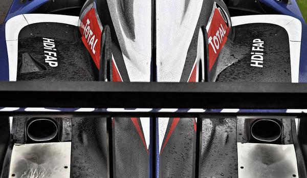 Carbon Fiber Photograph - Peugeot Endurance Racing Car by Dutourdumonde Photography