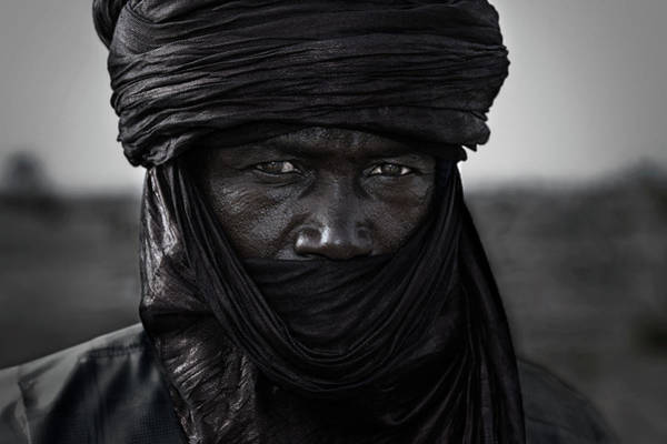 Wall Art - Photograph - Peul Man In The Gerewol Festival - Niger by Joxe Inazio Kuesta