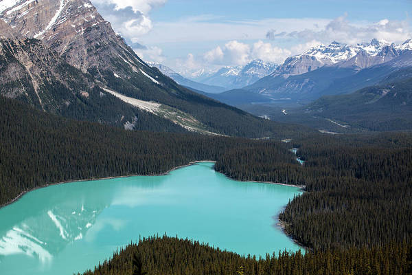 Peyto Lake Wall Art - Photograph - Peyto Lake 2013 by Jordanwhipps1987