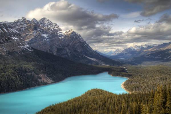 Photograph - Peyto Lake Banff National Park by Pierre Leclerc Photography