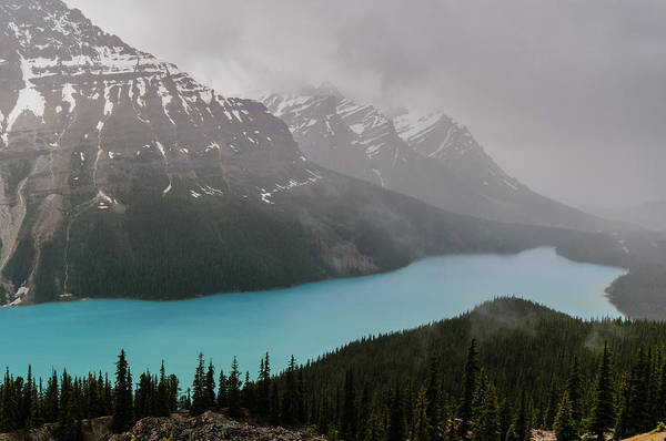 Peyto Lake Wall Art - Photograph - Peyto Lake by Wr Mekwi