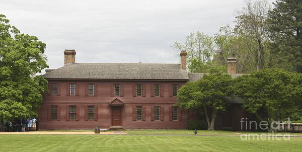 Royal Colony Photograph - Peyton Randolph House by Teresa Mucha