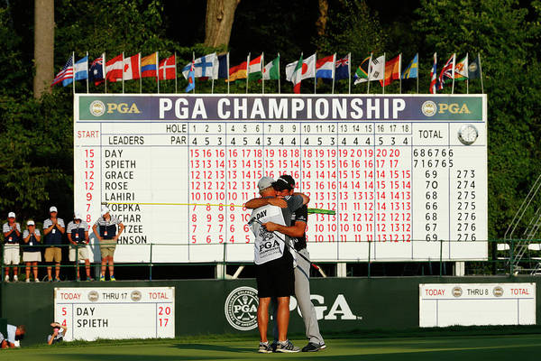 Photograph - Pga Championship - Final Round by Jamie Squire