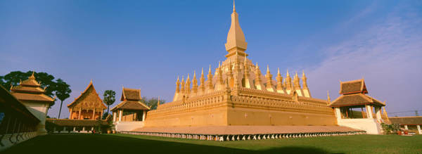 Laos Photograph - Pha That Luang Temple, Vientiane, Laos by Panoramic Images