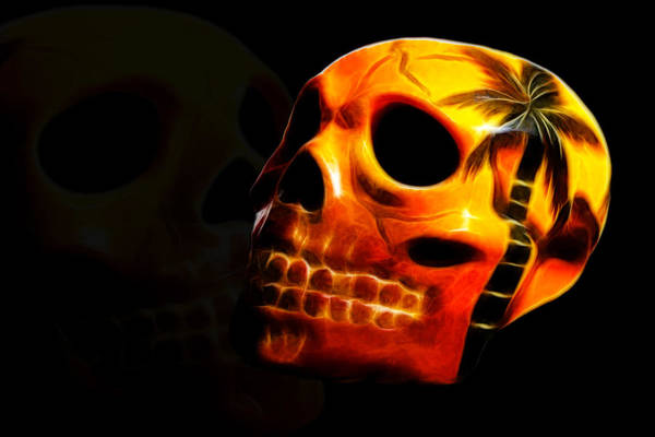 Photograph - Phantom Skull by Shane Bechler