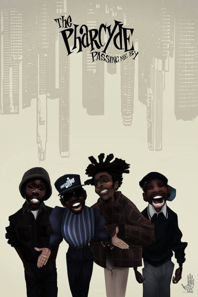 Pharcyde -passing Me By 1 Art Print