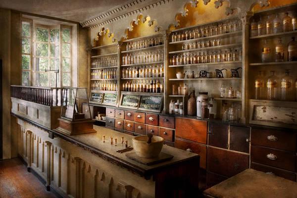 Wall Art - Photograph - Pharmacist - The Dispensatory by Mike Savad