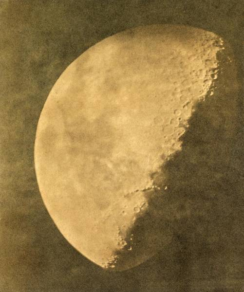 1851 Photograph - Phase Of The Moon by Library Of Congress/science Photo Library