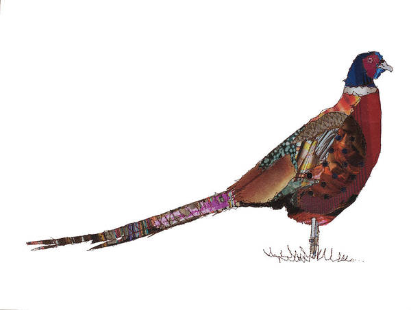 Stitch Painting - Pheasant by MGL Meiklejohn Graphics Licensing