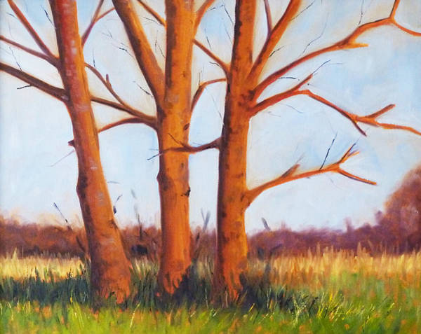 Prairie Grass Painting - Pheasant Season by Nancy Merkle