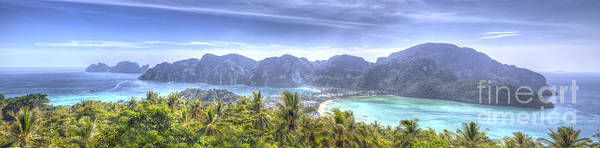 Phi Photograph - Phi Phi Island by Alex Dudley