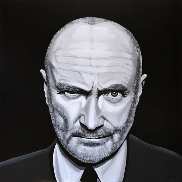 Wall Art - Painting - Phil Collins by Paul Meijering