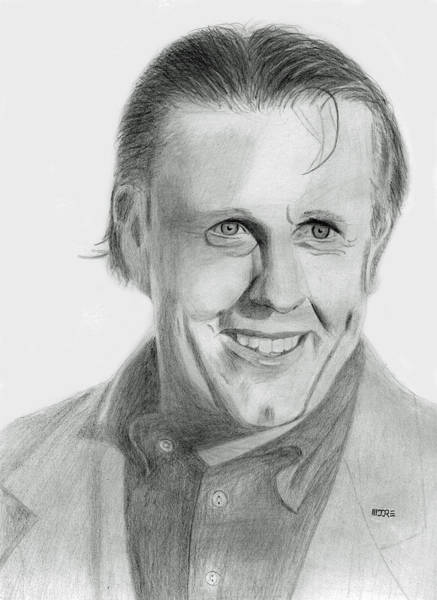 Drawing - Phil Mickelson by Pat Moore