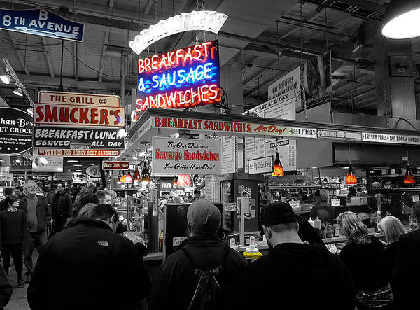 Photograph - Philadelphia - Breakfast At Smucker's by Richard Reeve