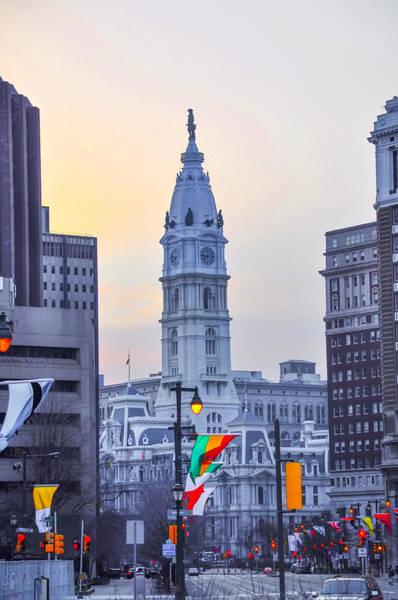 Cityhall Photograph - Philadelphia Cityhall In The Morning by Bill Cannon