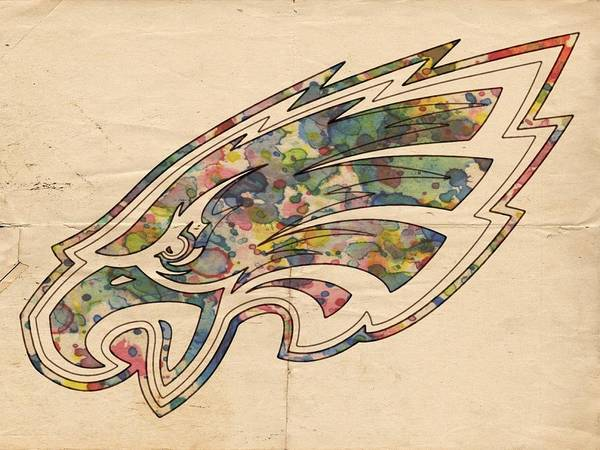 Painting - Philadelphia Eagles Poster Vintage by Florian Rodarte