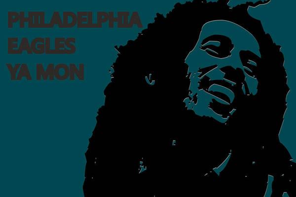 Drum Player Wall Art - Photograph - Philadelphia Eagles Ya Mon by Joe Hamilton