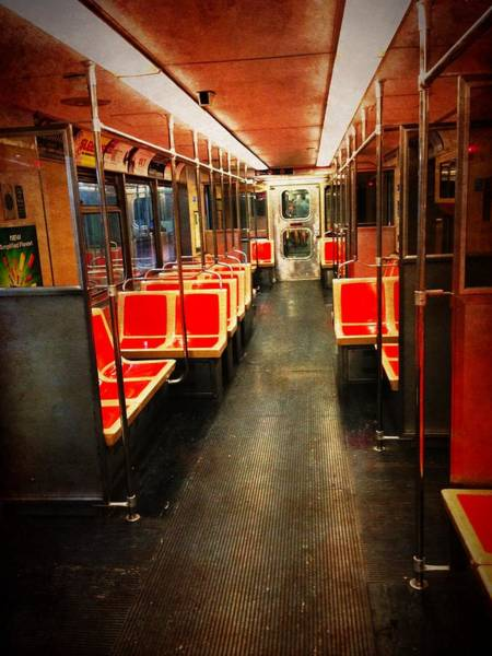 Photograph - Philadelphia - Empty Car by Richard Reeve