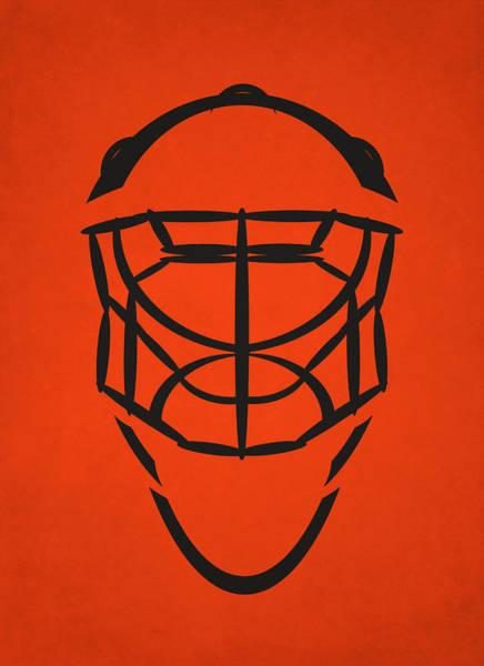 Flyers Photograph - Philadelphia Flyers Goalie Mask by Joe Hamilton