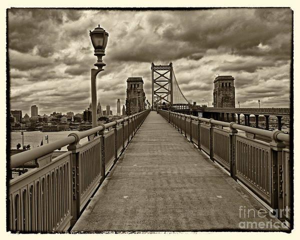 Wall Art - Photograph - Philadelphia From Ben Franklin Bridge 1 by Jack Paolini