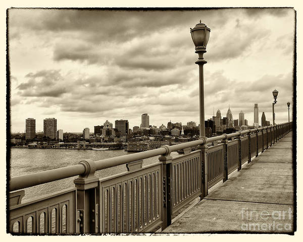 Wall Art - Photograph - Philadelphia From Ben Franklin Bridge 2 by Jack Paolini