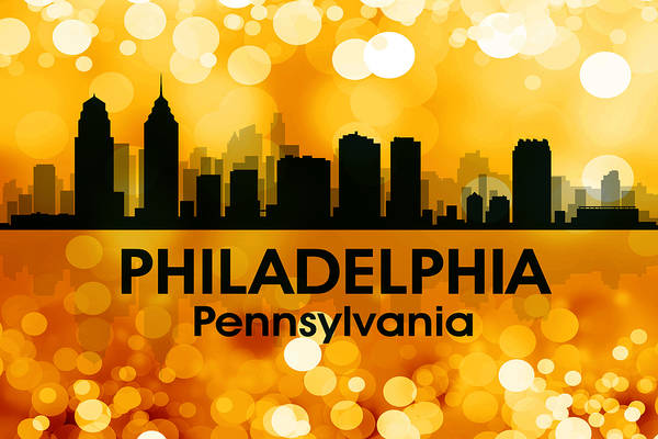 Metropolis Mixed Media - Philadelphia Pa 3 by Angelina Tamez