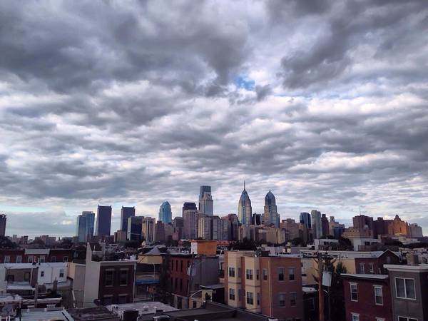 Photograph - Philadelphia Skyline by Chris Montcalmo