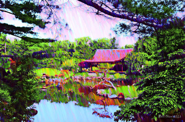 Photograph - Philadelphia's Japanese House Rendering by Bill Cannon