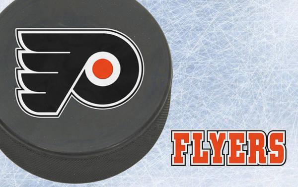 Flyers Photograph - Philadephia Flyers by Joe Hamilton