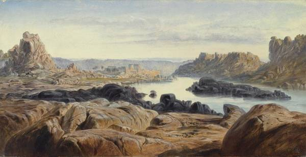Philae Painting - Philae by Celestial Images