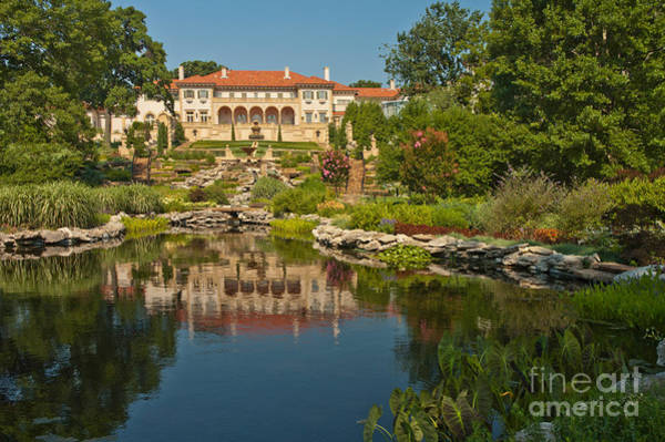 Villa Photograph - Philbrook Museum Of Art, Oklahoma by Richard and Ellen Thane