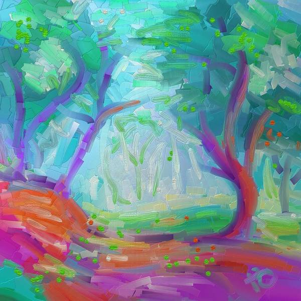 Oak Harbor Painting - Philippe Park by Penny Owens