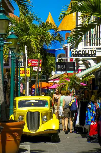 St. Maarten Photograph - Philipsburg by Karen Wiles