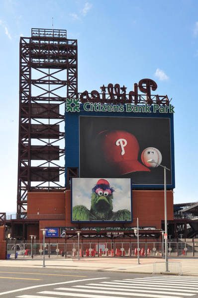 Citizens Bank Park Wall Art - Photograph - Phillies Citizens Bank Park - Baseball Stadium by Bill Cannon
