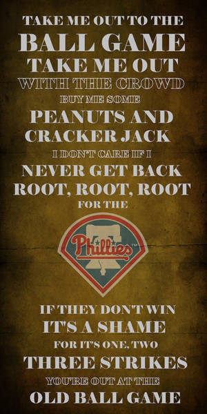 Philly Digital Art - Phillies Peanuts And Cracker Jack  by Movie Poster Prints