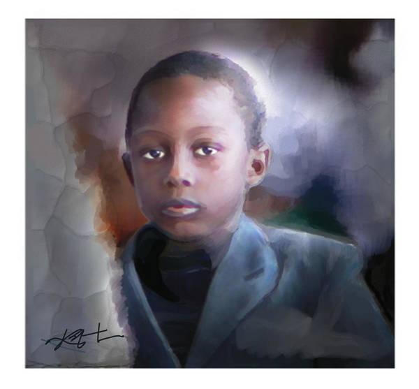 Haiti Painting - Phillipe by Bob Salo