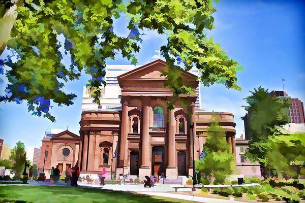 Photograph - Philly Church View by Alice Gipson